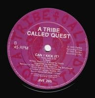 A TRIBE CALLED QUEST Can I Kick It Vinyl Record 7 Inch Jive 1990